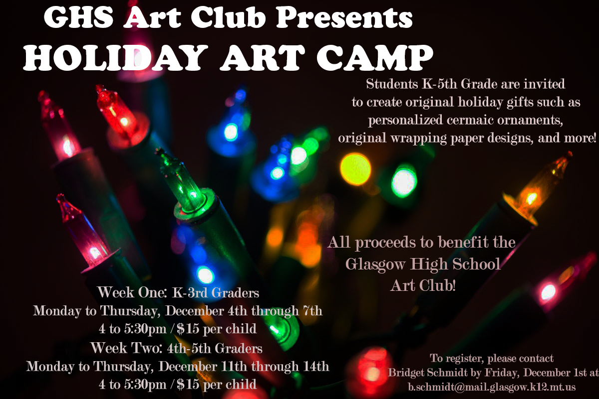 Art camp information