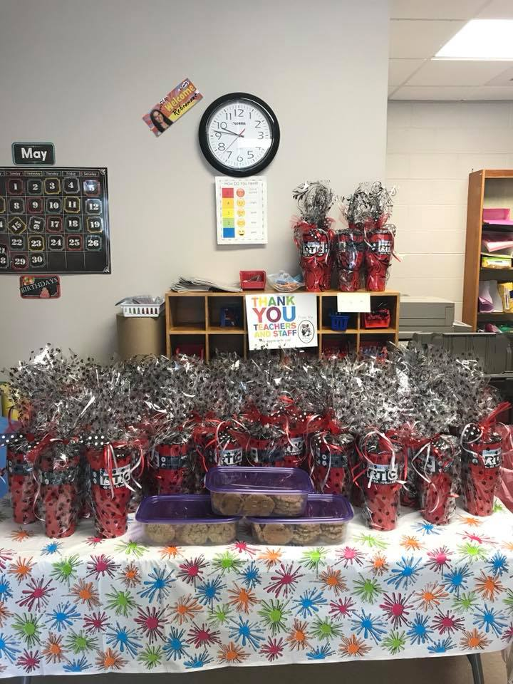 Teacher Appreciation Gifts from the Glasgow School District and Irle PTO